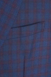 Пиджак из шерсти и шелка Brioni
