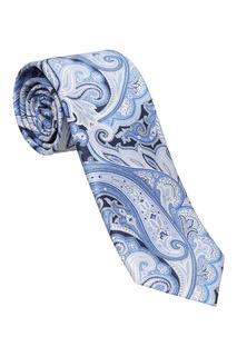 Шелковый комплект из галстука и платка Brioni