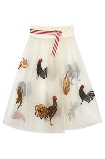 Шелковая юбка Nociva Stella Jean