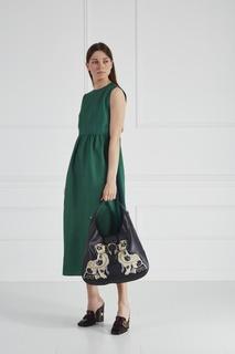 Кожаная сумка-хобо Dyonisus Gucci