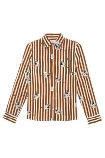 Шелковая блузка Potente Stella Jean