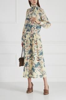 Шелковое платье Ottusa Stella Jean