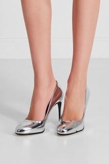 Металлизированные туфли Stella Mc Cartney