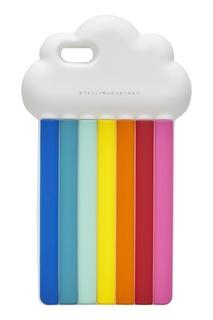 """Силиконовый чехол для IPhone 6 """"Радуга"""" Stella Mc Cartney"""