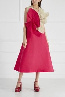 Льняное платье Delpozo