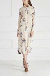 Шелковое платье-рубашка Terrorizzata Stella Jean