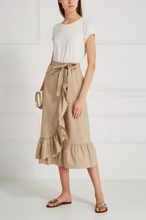 Хлопковая юбка Boutique Moschino