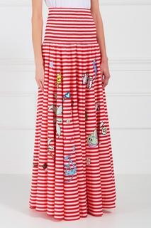 Хлопковая юбка Mira Mikati