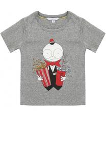 Хлопковая футболка с принтом Marc Jacobs