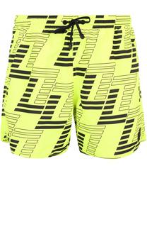 Плавки-шорты с принтом Emporio Armani