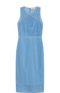 Полупрозрачное кружевное платье-миди Diane Von Furstenberg