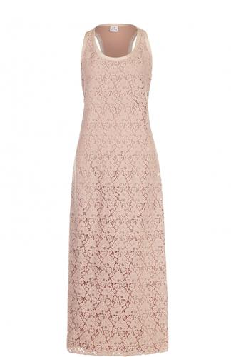 Кружевное платье-макси без рукавов Deha