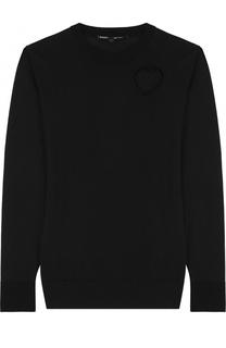Пуловер прямого кроя с вырезом в форме сердца Proenza Schouler