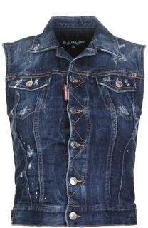 Жилет джинсовый Dsquared2