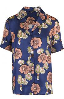 Блуза в пижамном стиле с цветочным принтом Tara Jarmon