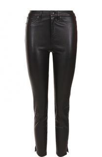 Укороченные кожаные брюки-скинни Rag&Bone Rag&Bone