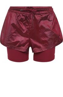 Спортивные мини-шорты с эластичным поясом Adidas by Stella McCartney