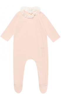 Хлопковая пижама с рюшами Chloé
