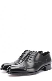 Классические кожаные оксфорды Tom Ford