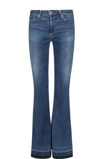 Расклешенные джинсы с потертостями Ag