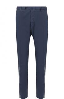 Хлопковые брюки прямого кроя Pal Zileri