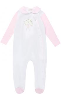Хлопковая пижама с вышивкой Aletta