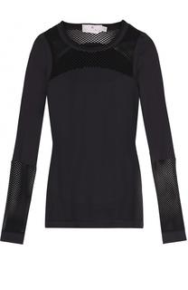 Топ с длинными рукавами и перфорацией Adidas by Stella McCartney