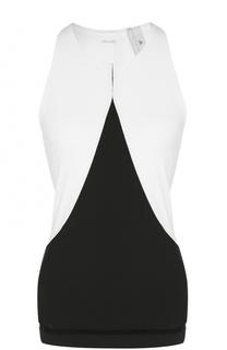 Облегающий топ без рукавов Adidas by Stella McCartney