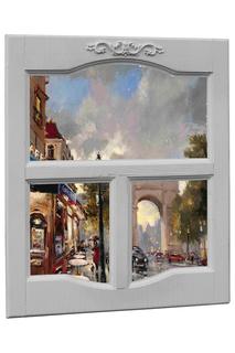Панно окно в раме БИЛЬДЕР МАНУФАКТУР Bilder Manufaktur
