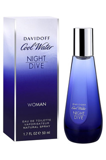 Cool Water Night Dive EDT,50мл Davidoff