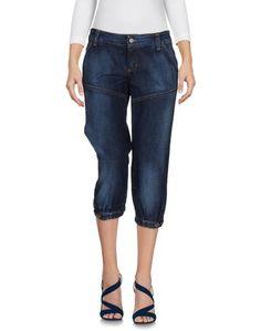 Джинсовые брюки-капри Galliano