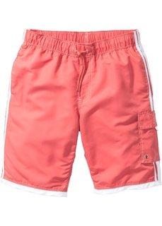 Пляжные бермуды Regular Fit (светло-красный) Bonprix