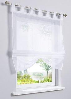 Римская штора Камилла, петли (белый) Bonprix