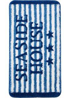 Коврик для ванной Взморье (синий) Bonprix