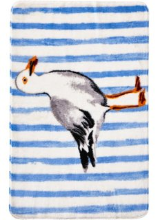 Коврик для ванной Фриц (синий) Bonprix