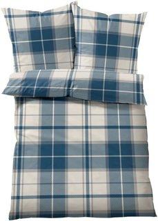 Постельное белье Каролин, линон (синий) Bonprix