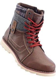 Ботинки (коричневый) Bonprix