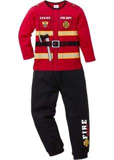 Пижама (2 изд.) (темно-красный/черный «Пожарный») Bonprix