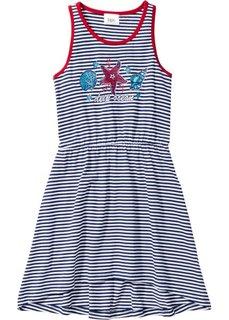 Пляжное платье, Размеры  92/98-164/170 (синий/белый с рисунком) Bonprix
