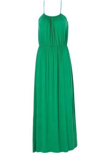 Трикотажное платье (зеленый)