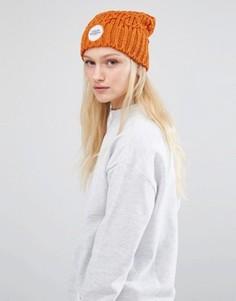 Оранжевая шапка-бини Cheap Monday - Оранжевый