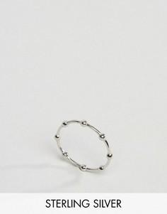Серебряное кольцо с отделкой в виде шариков Kingsley Ryan - Серебряный