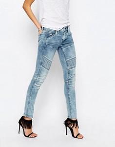 Зауженные джинсы с классической талией G-Star Elwood 5620 - Синий