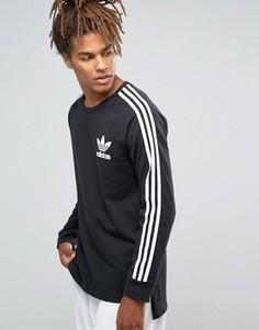 Лонгслив adidas Originals Adicolour B10714 - Черный