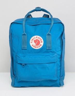 Синий рюкзак Fjallraven Kanken - Синий