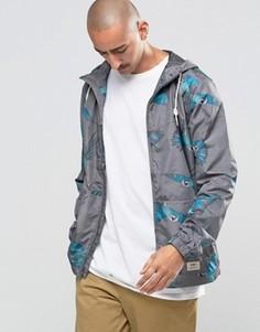 Серая парусиновая куртка с принтом птиц Vans VOPBJ33 - Серый