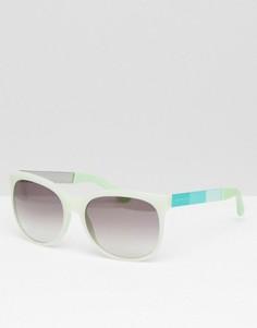 Солнцезащитные очки в D-оправе Marc By Marc Jacobs - Белый