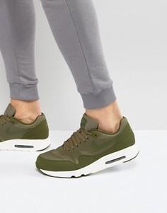 Зеленые кроссовки Nike Air Max 1 Ultra 2.0 875679-200 - Зеленый