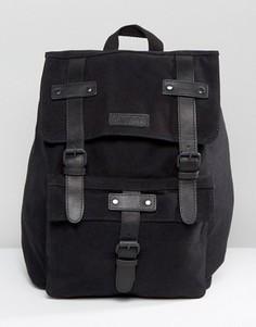 Черный кожаный рюкзак Barneys - Черный Barneys Originals