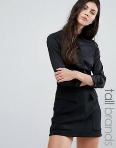 Классическая рубашка Vero Moda Tall - Черный